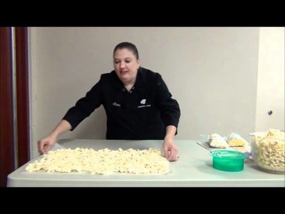 How to make Chocolate covered popcorn by ShopBakersNook.com