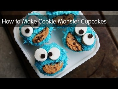 How to Make Cookie Monster Cupcakes | Kitchen Explorers | PBS Parents