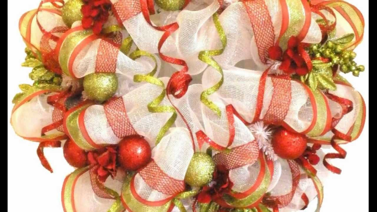 How to Make Deco Mesh Wreaths & Garlands