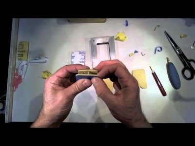 How to pack a rubber jewelry mold for a simple ring