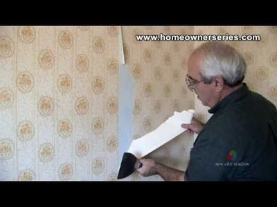 How to Remove Wall Paper  - Drywall Repair