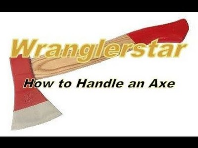 How To Replace An Axe Handle by Wranglerstar