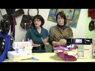 Inside Zede's Studio Ep.1: How to Embroider on a Bag and How to Make a Lettuce Edge Scarf
