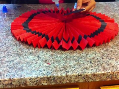 Learn how to make Valentine's Day decorations
