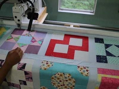 Longarm Quilting- Ruler Work Accessories: Stitch-in-the-Ditch & Free Motion quilting