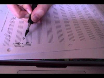 Music Theory Lesson: Notes on a keyboard and Treble Clef