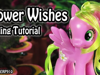 My Little Pony: Flower Wishes. Daisy Cutie Mark Magic Hair Styling Tutorial MLP