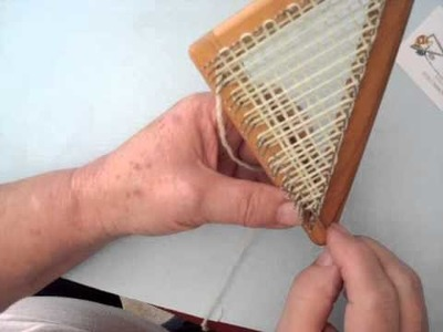 Needle Weaving the Triangle