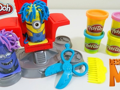 Play Doh Despicable Me Minion Disguise Lab Play Dough Playset Unboxing and Toy Review!