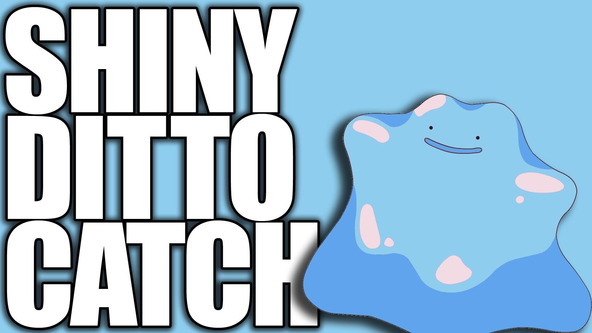 Pokemon XY - How to Catch a Shiny Ditto Using Pokeradar