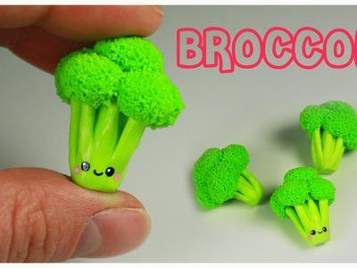 Polymer clay Kawaii Broccoli TUTORIAL