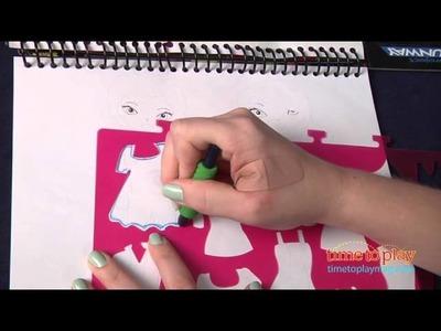 Project Runway Fashion Design Sketch Portfolio from Fashion Angels