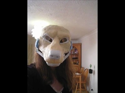 Resin Wolf Mask Moving Jaw Test
