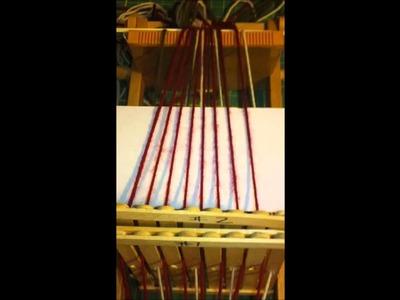 Rigid Heddle Double Weave Single Pick Up Stick