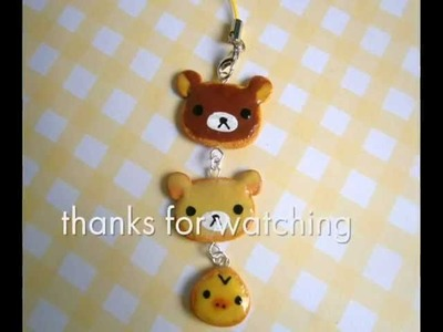 Rilakkuma & Friends Cookies Tutorial - Polymer Clay