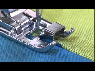 SINGER® Edge Joining Presser Foot Tutorial