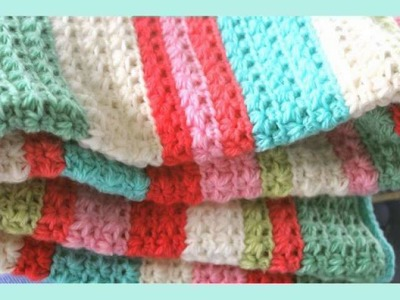 Star Stitch Baby Blanket