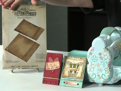 Tip of the Day - Cutting Grungeboard & Grungepaper Using your Sizzix Big Shot