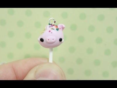 Tutorial: Pig Cake Pop Charm!