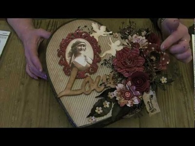 Vintage Valentine Altered Box