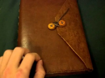Whisper ASMR: update and sounds of leather book
