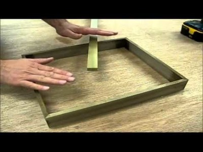 Woodworking How to make a solid walnut Picture frame by Jon Peters