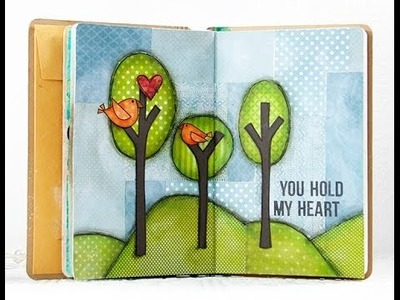 You Hold My Heart Art Journal