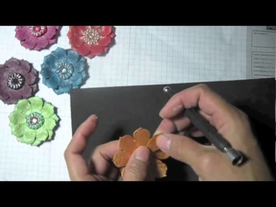 Another Paper flowers tutorial