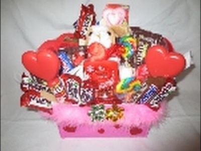 Candy bouquet in a box