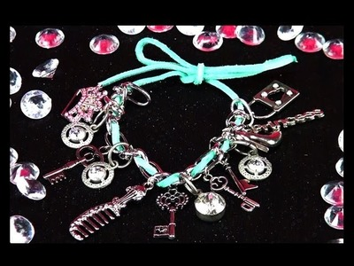 DIY: Create Your Own Princess Charm Bracelet!