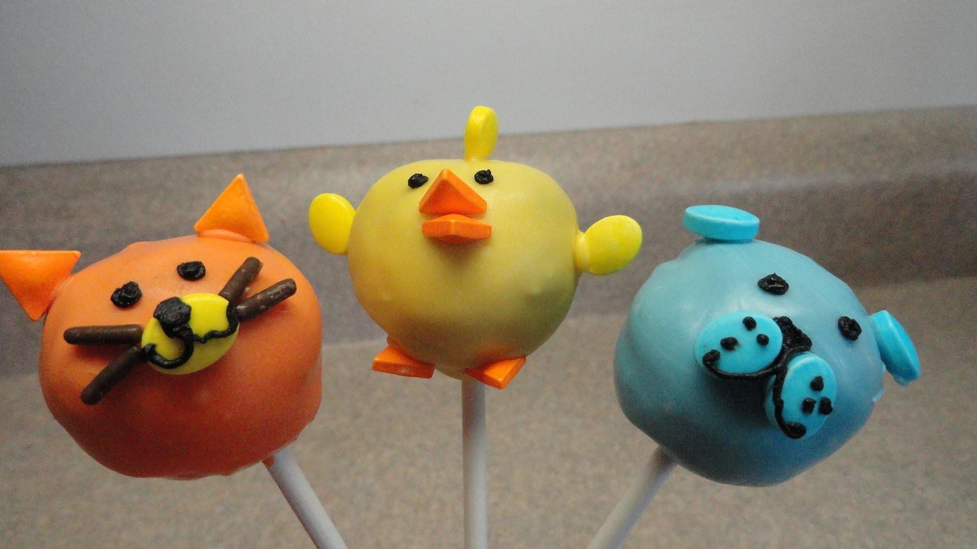 Dog, Cat, Chick Cakepops (Wilton Sprinkle Set Demo)