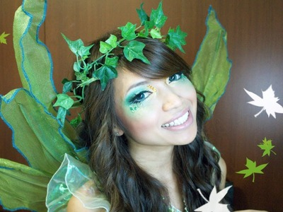 Forest Fairy Halloween Makeup Tutorial