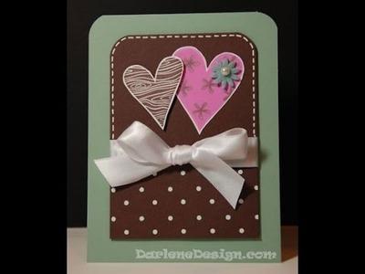 Friendship Hearts Card