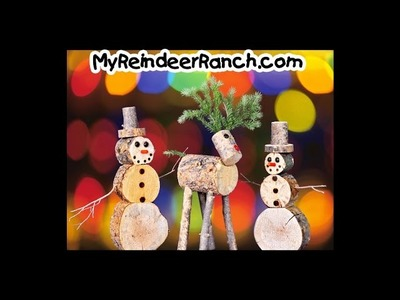 Handmade Christmas Gifts - Reindeer Ranch - Snowmen and Reindeer