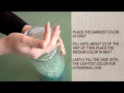 How To Decorate Glass Vases