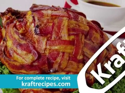 How to Make Bacon-Wrapped Turkey