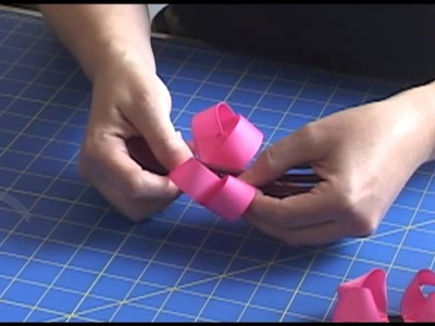How To Make Hair Bows With Pre-Cut and Heat Sealed Ribbon Strips