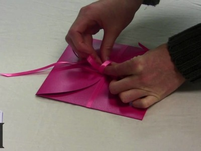How To Make LCI Paper's Silver Azalea Wedding Pochette
