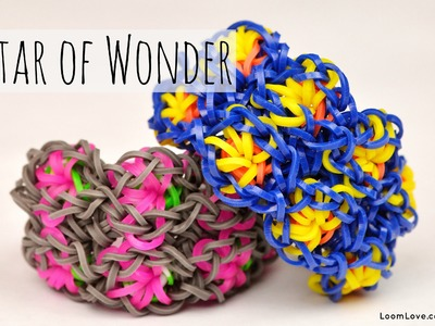 How to Make the Rainbow Loom Star of Wonder