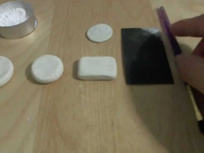 How To Remove Fingerprints and Dust Off Your Polymer Clay.Charms