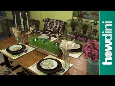 How to Set a Casual Dinner Table - How to Set a Table