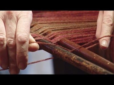 How To Set Up An Old Fashioned Loom