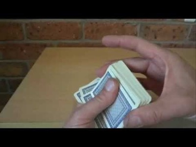 How to Shuffle Cards - Playing Cards - 52 Card Decks - Step by Step Instructions