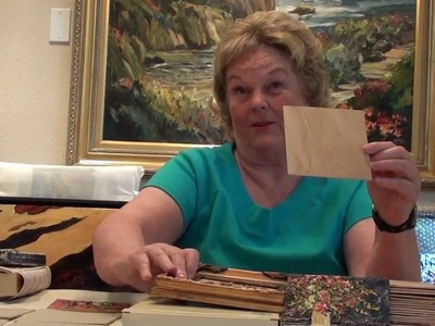 HowTo Paint:on Wood Panel- Marge Kinney