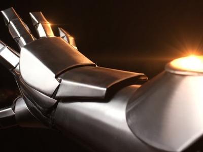 Iron Man Armor in metal tutorial