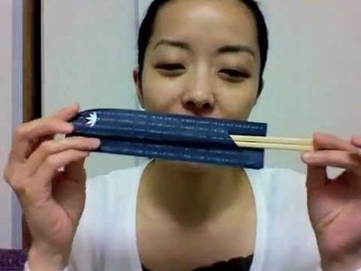 Let's make a chopstick rest!