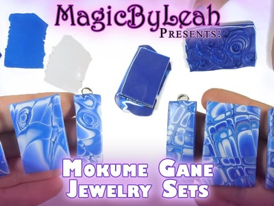 Mokume Gane Polymer Clay Jewelry Tutorial Video MagicByLeah