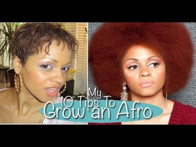 My Top 10 Beginners Tips For Growing A Healthy Afro