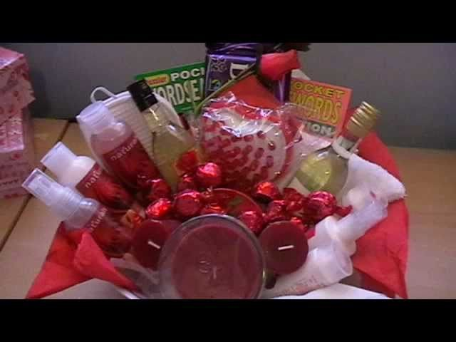 PAMPER BASKET for sis in law.wmv
