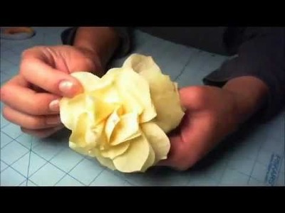 Part 2 coffee filter rose